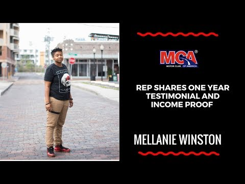 MCA Rep Shares 1 Year Part Time Testimonial | MCA INCOME PROOF 2018