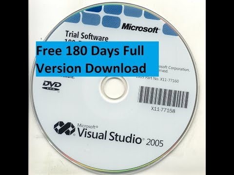 How To Download and Install Visual Studio 2005 Full