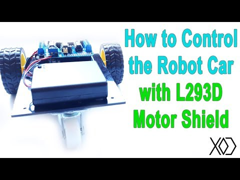06# Arduino Visual Programming | How to Control a Robot or DC Motors using the L293D