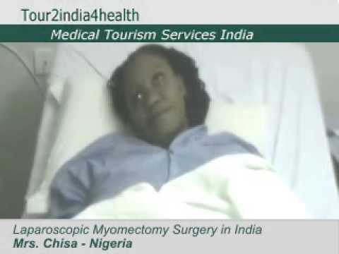 Fibroid Removal Surgery in India helped Mrs. Chisa from Nigeria to become pregnant..