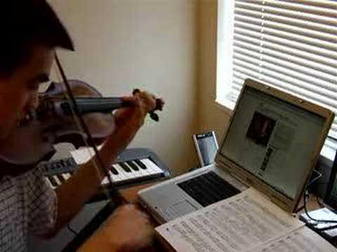 Fast Violin Solo: Me vs Yanni violinist Samvel Yervinyan