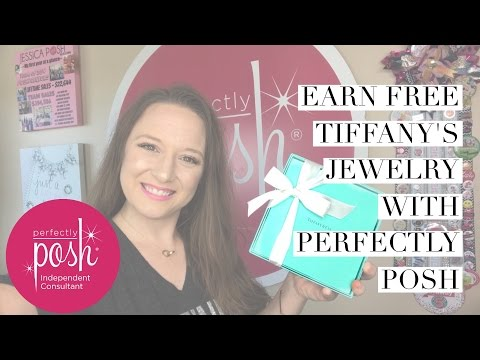 Earn FREE Tiffany's Jewelry from Perfectly Posh