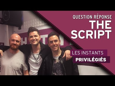 Le Question Réponse avec The Script