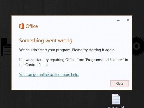 Memperbaiki Microsoft Office 2016