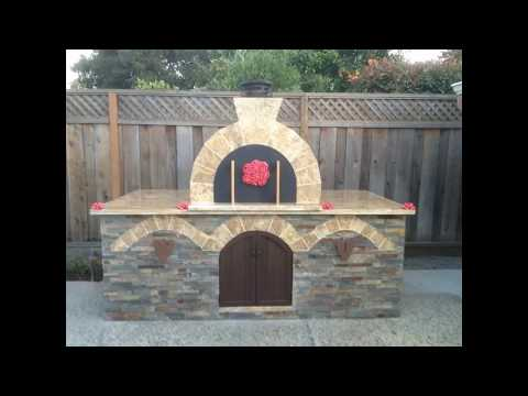 Propane Powered Outdoor Brick Pizza Oven by BrickWood Outdoors