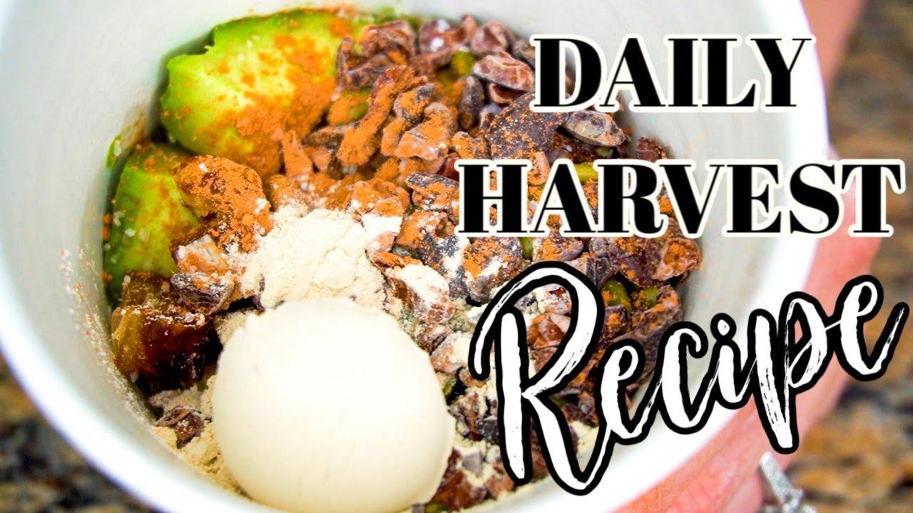 Daily Harvest Recipe - DIY Daily Harvest Avocado Smoothie Prep Recipe