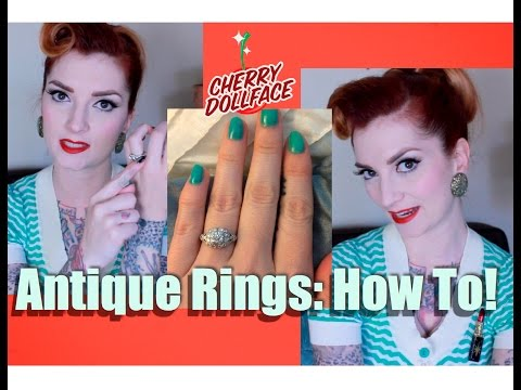 Antique Wedding Rings: How to pick the right one! by CHERRY DOLLFACE