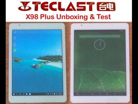Teclast X98 Plus Dual OS Windows 10 and Android 5.1 9.7