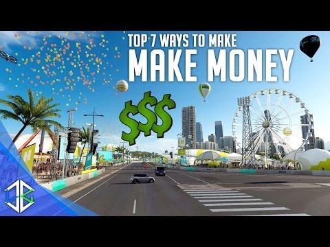 Forza Horizon 3 - 7 Ways To Make Money FAST!