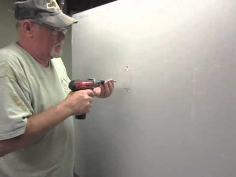 How to repair the hole in wall after you removed a swicth or outlet.