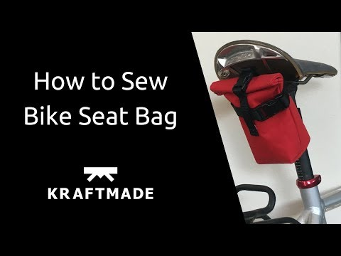 How to Sew Bike Seat Bag - Kraftmade
