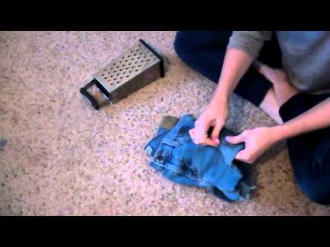Fashion How-To: Destroying Denim