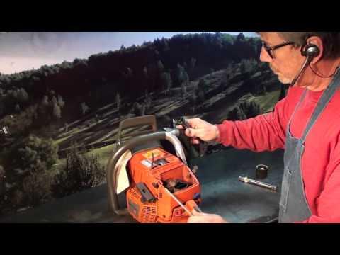 2 The chainsaw guy shop talk Repair stripped sparkplug hole Husqvarna 372 XP