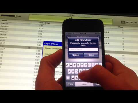 NEW How To Sync More Then One iTunes Library! iPhone iPad iPod touch - MultiTunes