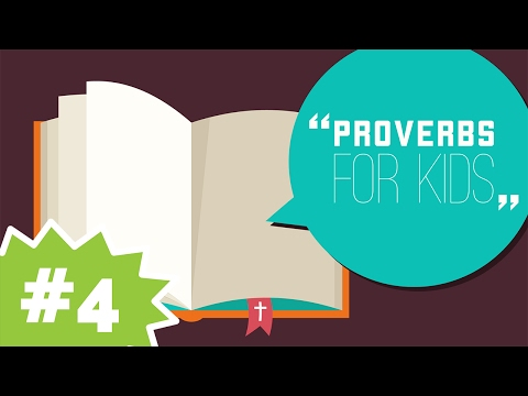 Wisdom Can Be Your Friend | Proverbs #4