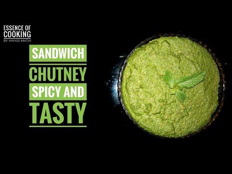 Sandwich Chutney | How to make Bombay Sandwich Chutney | Street Style Sandwich Chutney | Spicy