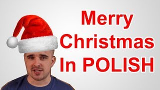 merry christmas in polish how to say - How To Say Merry Christmas In Polish
