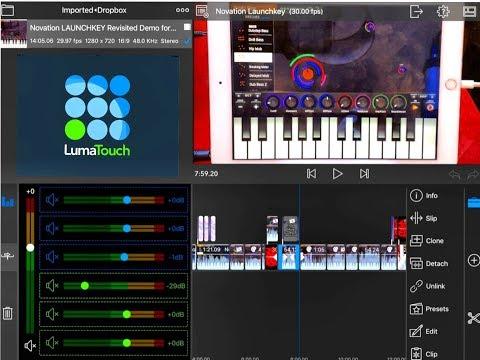 LUMAFUSION Sept 2017 Update Cool New Features & Excellent Audio Control iPad Tutorial