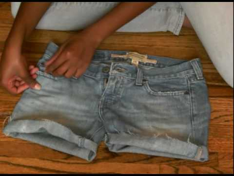 Summer Quickie: From baggy jeans to cute frayed shorts