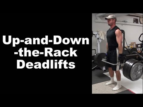 Up-And-Down-The-Rack Trap Bar Deadlifts