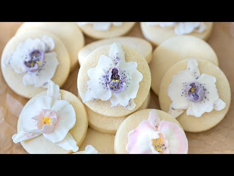How to Make Orchid Cookies