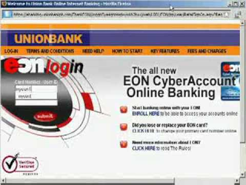 linking Paypal to your Unionbank EON account