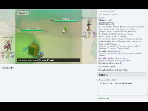 Pokemon Showdown Battle Series [OU] | Battle #1