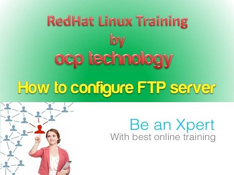ftp server with uploading configuration in linux step by step