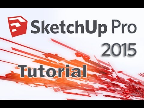 SketchUp Pro 2015 - Advanced Tools and Sandbox Tutorial