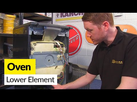How to Replace a Lower Oven Element