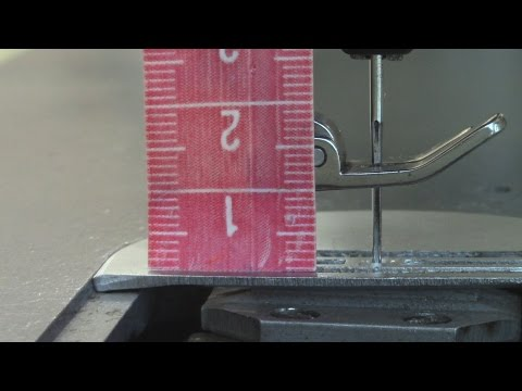 Setting Up the Height of the Presser Foot (Singer 241-12)-TUTORIAL 4