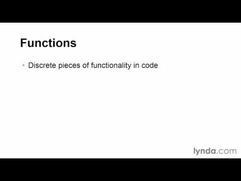 03 11 Introducing functions