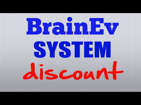Huge Discount on the Brain Evolution System