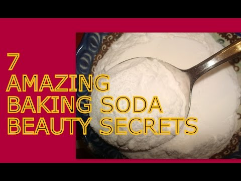 7 Baking Soda Beauty Tips Skin, hands,