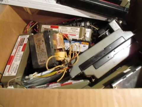 Making Money Scrapping Recycling 400 + LBS Ballasts Motors & Transformers!