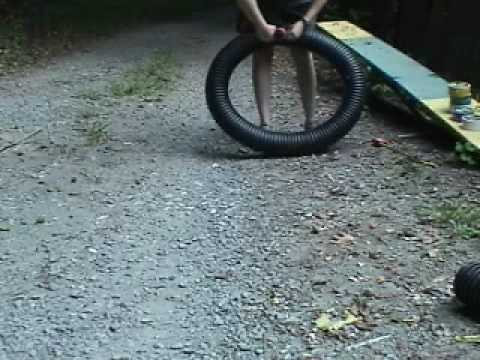 How to build a dog agility Tire part 1