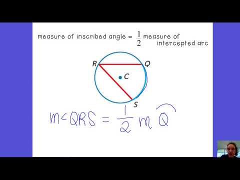 10.4 Inscribed Angles