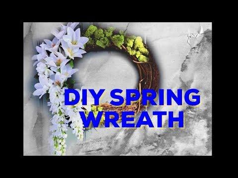 Make Your Own DIY Spring Wreath Tutorial