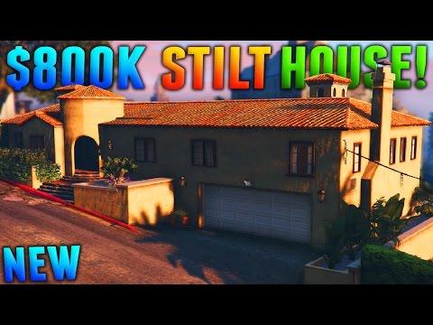 GTA Online: MOST EXPENSIVE STILT HOUSE - 800k Stilt Apartment