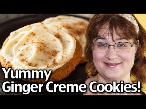 How To Make Yummy Ginger Cream Cookies! Easy Ginger Cremes!