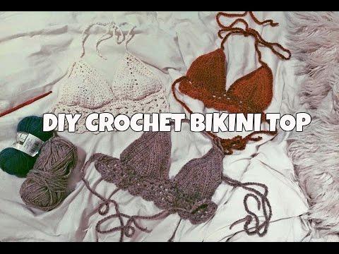 DIY CROCHET BIKINI TOP TUTORIAL