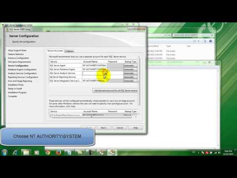 How download and install Microsoft Sql server 2008