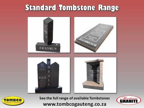 Granite & Concrete Tombstones in Pretoria   Headstones & Gravestones
