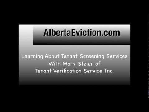 Alberta Eviction Interview with Marv Steier of TVS