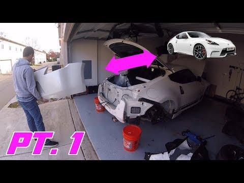 Nismo 370Z Bumper Conversion Pt.1 - OEM Bumper Removal