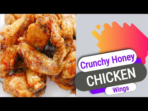 Crunchy Honey Chicken Wings