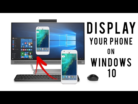 How to Mirror/Project Your Phone to Windows 10 PC [Without Software & App]
