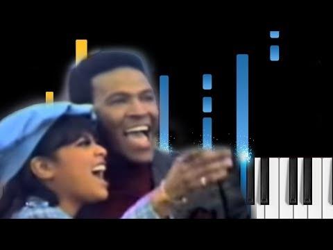 Ain't No Mountain High Enough - Piano Tutorial - Marvin Gaye & Tammi Terrell