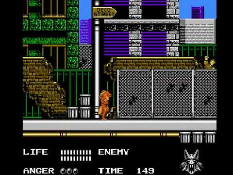 NES Longplay [246] Werewolf - The Last Warrior