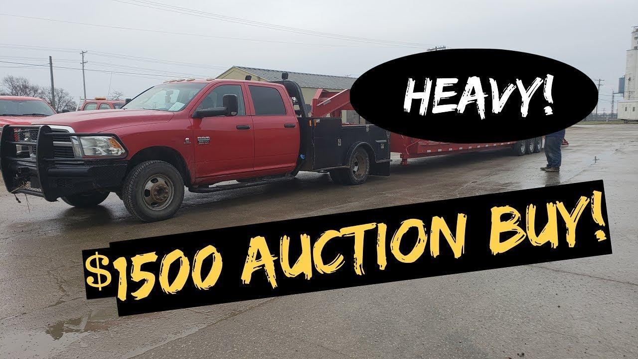 RAM 3500 Cummins handle Heavy Load ? + $1500 Auction BUY